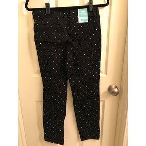 Brand new Polka Dot Pixie Pants